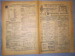 ILLUSTRATED STAMP JOURNAL-ILLUSTRIERTES BRIEFMARKEN JOURNAL MAGAZINE PRICE LIST, LEIPZIG, NR 3, 1901, GERMANY - Magazines