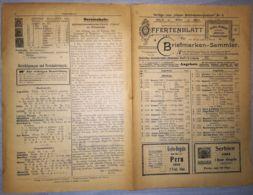 ILLUSTRATED STAMP JOURNAL-ILLUSTRIERTES BRIEFMARKEN JOURNAL MAGAZINE PRICE LIST, LEIPZIG, NR 6, 1901, GERMANY - Riviste
