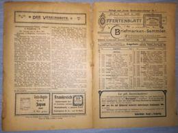 ILLUSTRATED STAMP JOURNAL-ILLUSTRIERTES BRIEFMARKEN JOURNAL MAGAZINE PRICE LIST, LEIPZIG, NR 7, 1901, GERMANY - Magazines