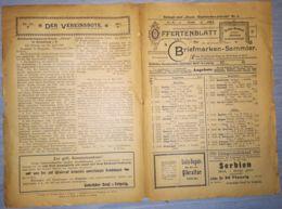 ILLUSTRATED STAMP JOURNAL-ILLUSTRIERTES BRIEFMARKEN JOURNAL MAGAZINE PRICE LIST, LEIPZIG, NR 11, 1901, GERMANY - Riviste