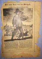 THE NEW BOOK OF THE WORLD POST-DAS NEUE BUCH VON DER WELTPOST MAGAZINE PAGE, ABOUT 1900, GERMANY - Magazines