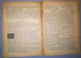 ILLUSTRATED STAMP JOURNAL- ILLUSTRIERTES BRIEFMARKEN JOURNAL MAGAZINE FRAGMENT, LEIPZIG, ABOUT 1900, GERMANY - Magazines
