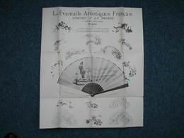 Henry à La Pensée 3 Documents 1904 Et Non Daté  Voir Photos éventails Et Mode - Textile & Vestimentaire