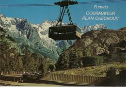 CPM Italie, Courmayeur, Plan Checrouit - Italia