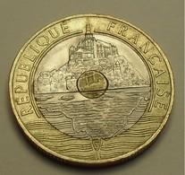 1995 - France - 20 FRANCS, Mont Saint-Michel, Abeille, KM 1008.2, Gad 871 - Commémoratives