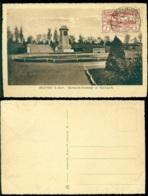 Polen 1922 Postkarte Bytom (Beuthen) Haute Silésie Bismarck-Denkmal Im Stadtpark - Poland