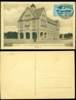 Polen 1922 Postkarte Bytom (Beuthen) Haute Silésie Verwaltungsgebäude Der Knappschafts-Berufsgenossenschaft Sektion VI - Poland