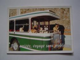CARTE POSTALE : BUS RATP 7895 / Ligne 83 LEVALLOIS / CHICOREE LEROUX / CHIENS - Bus & Autocars