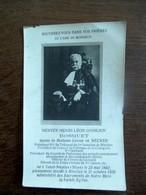 Doodsprentje    Hervey -  Henri - Léon - Ghislain  BOSQUET  Né à SAINT - NICOLAS ( Waes ) 1862   Déc ... à NIVELLES1936 - Décès