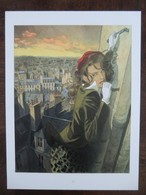 Affiche Jean Pierre Gibrat Le Cri Du Corbeau Jeanne 40x30cm Neuve - Affiches