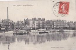 Carte 1910 NANTES / Le Quai Richebourg - Nantes