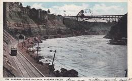 CANADA. CPA. NIAGARA GORGE RAILWAY. NIAGARA FALLS. ANNEE 1921 - Alberta