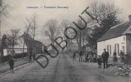 Postkaart-Carte Postale LOVENJOEL/BIERBEEK Tienschen Steenweg - Tiensesteenweg (L142) - Bierbeek