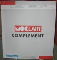 MOC - JEU FRANCE CARNETS MOCLAIR 2005 (Avec Pochettes) - Pré-Imprimés