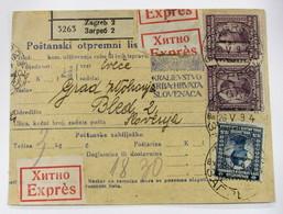 Yugoslavia 130-4-45(2)-52(2) - 1919-1929 Kingdom Of Serbs, Croats And Slovenes