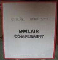 MOC - JEU FRANCE CARNETS MOCLAIR 2004 (Avec Pochettes) - Pré-Imprimés