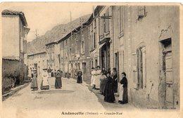 Andancette  26   La  Grande Rue  Tres Tres Animée-Epicerie Et Bar - Other Municipalities