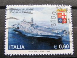 *ITALIA* USATI 2006 - MARINA MILITARE - SASSONE 2888 - LUSSO/FIOR DI STAMPA - 6. 1946-.. Repubblica