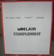 MOC - JEU FRANCE CARNETS MOCLAIR 2002 (Avec Pochettes) - Pré-Imprimés