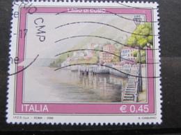*ITALIA* USATI 2006 - 33^ TURISTICA LAGO DI COMO - SASSONE 2890 - LUSSO/FIOR DI STAMPA - 6. 1946-.. Repubblica