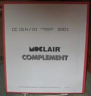 MOC - JEU FRANCE CARNETS MOCLAIR 2001 (Avec Pochettes) - Pré-Imprimés