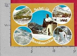 CARTOLINA VG ITALIA - Saluti Da BARDONECCHIA (TO) - Vedutine Multivue - 10 X 15 - ANN 197? - Saluti Da.../ Gruss Aus...