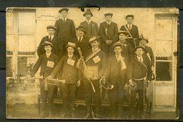 CARTE PHOTO MILITARIA - CONSCRITS DE JUMELLIERE ( MAINE ET LOIRE ) CLASSE 1919 - - France