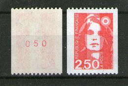 N° 2719d**_gomme Brillante Jaunâtre Avec N° Rouge_cote 10.00 - 1989-96 Maríanne Du Bicentenaire