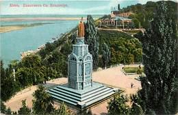 Pays Div -ref P780- Ukraine -kiew -monument  St Vladimir  - - Ukraine