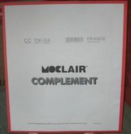 MOC - JEU FRANCE MINI-FEUILLES MOCLAIR 2004 (Avec Pochettes) - Pré-Imprimés
