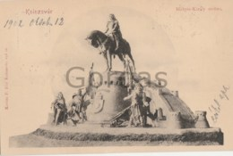 Romania - Cluj - Monumentul Matei Corvin - Romania