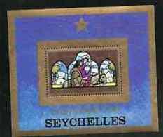90667) Seychelles-Menta Minisheet-Natale 1979  MNH** - Seychelles (1976-...)