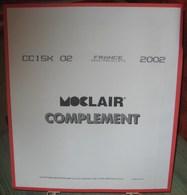 MOC - JEU FRANCE MINI-FEUILLES MOCLAIR 2002 (Avec Pochettes) - Pré-Imprimés