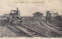 °°°  45  TIGY : La Gare Du Tramway    °°°  REF  // JANV.19   ////  BO. SELEC. 45 - Autres Communes