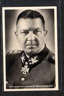 S/w Ak Aus Einer Serie,  Photo Hoffmann R 78 , Obergruppenführer Eicke, Ritterkreuzträger Mit EL - Briefe U. Dokumente