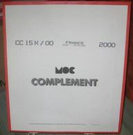 MOC - JEU FRANCE MINI-FEUILLES MOCLAIR 2000 (Avec Pochettes) - Pré-Imprimés