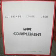 MOC - JEU FRANCE MINI-FEUILLES MOCLAIR 1999 (Avec Pochettes) - Pré-Imprimés