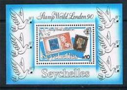 90668)  Seychelles 1990-LONDON90- 1° DEL TIMBRO MONDO   MNH** - Seychelles (1976-...)