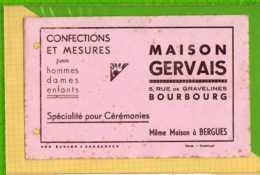 2 Buvards & Blotting Paper : Confection Et Mesures Maison GERVAIS Bourbourg Bergues  Rose Et Blanc - Textile & Vestimentaire