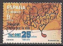 Spanien (2015)  Mi.Nr.  4940  Gest. / Used  (10af40) - 1931-Heute: 2. Rep. - ... Juan Carlos I
