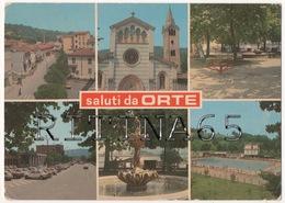 VT18 !!! ORTE SALUTI CON VEDUTINE F.G. !!! - Italia
