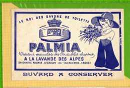 Buvard & Blotting Paper : Le Roi Des Savons PALMIA  A La Lavande Des Alpes - Parfums & Beauté