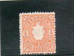 SACHSEN 1863-7 * - Saxe