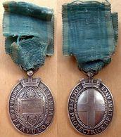 D3-1206 Médaille Société Protectrice De L'Enfance Sinite Parvulos Venire (Henri Girousse) - Organizations