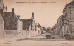 PONTAVERT Grande Rue Avec Attelage De Chien (scan Recto Eet Verso) - France