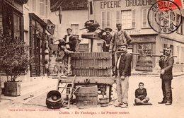 CPA De CHABLIS - Le Pressoir Roulant. - Chablis