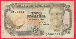 Zambie 2 Kwacha 1989 (Sign8) Dans L 'état - Zambie