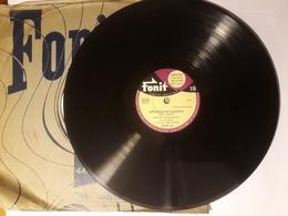 Fonit  - 1954   Nr. 14267. Giacomo Rondinella - 78 Rpm - Schellackplatten