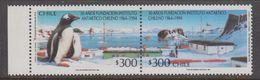 Chile 1994 Antarctica 2v Se Tenant ** Mnh (41743A) - Postzegels