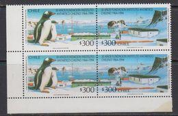 Chile 1994 Antarctica 2x2v Se Tenant ** Mnh (41743B) - Postzegels